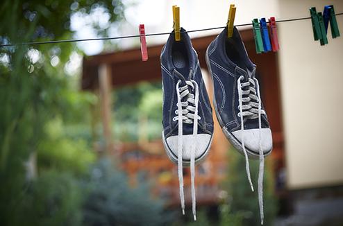 Peut-on laver ses baskets à la machine ?
