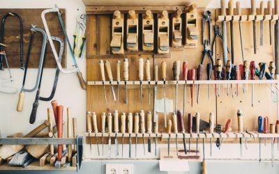 Conseil : Je range mon atelier
