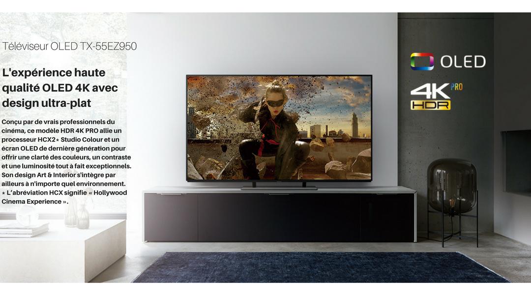 Téléviseur OLED TX-55EZ950
