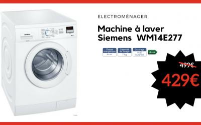 Machine à laver Siemens WM14E277